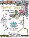 Flower Yoga Coloring Book Journal