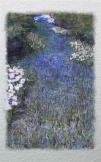 Journal: Blue Impressionist Flower Forest
