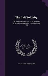 The Call to Unity