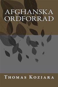 Afghanska Ordforrad