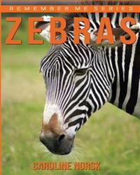 Zebras: Amazing Photos & Fun Facts Book about Zebras for Kids