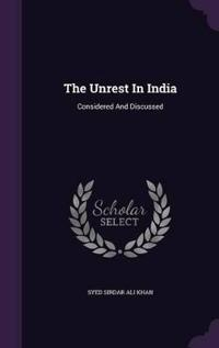 The Unrest in India
