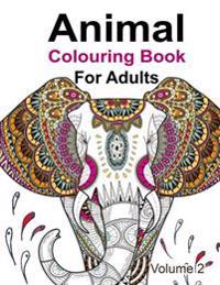 Animal Colouring Book for Adults