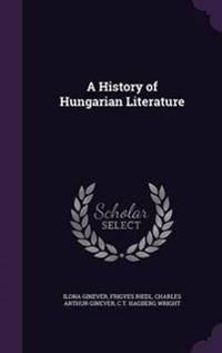 A History of Hungarian Literature