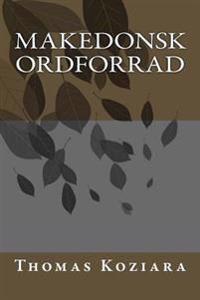 Makedonsk Ordforrad
