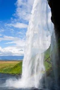 Waterfall in Iceland Journal: 150 Page Lined Notebook/Diary