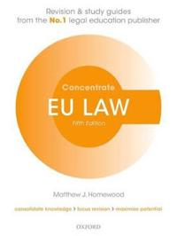 Eu law concentrate - law revision and study guide