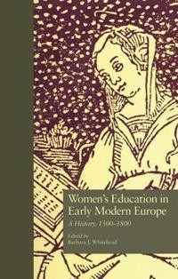Women's Education in Early Modern Europe