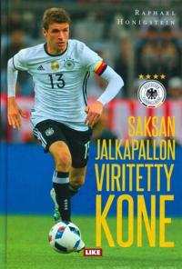 Saksan jalkapallon viritetty kone