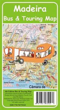 Madeira Bus & Touring Map