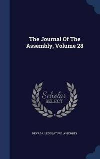The Journal of the Assembly, Volume 28