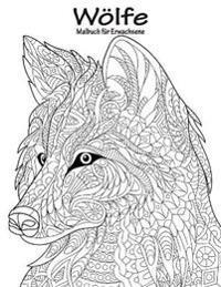Wolfe-Malbuch Fur Erwachsene 1