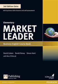 Market Leader 3rd Edition Extra Elementary Coursebook with DVD-ROM and MyEnglishLab Pack