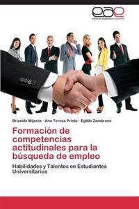 Formacion de Competencias Actitudinales Para La Busqueda de Empleo