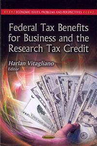 Federal Tax Benefits for Business and the Research Tax Credit