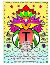 Leren Engels Alfabet Kleurboek Met Engelen En Feeen Voor Iedereen Kinderen Volwassenen Adolescenten Gepensioneerden Bejaarde
