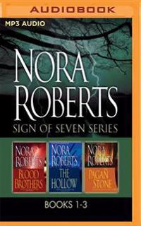 Sign of Seven Series: Books 1-3: Blood Brothers, the Hollow, the Pagan Stone