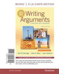 Writing Arguments: A Rhetoric with Readings, Books a la Carte Edition, MLA Update Edition