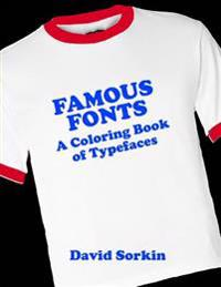 Famous Fonts: A Coloring Book of Typefaces