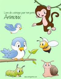 Livre de Coloriage Pour Tout-Petits Animaux 1