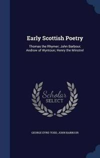 Early Scottish Poetry