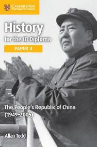The People's Republic of China 1949-2005
