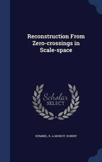 Reconstruction from Zero-Crossings in Scale-Space