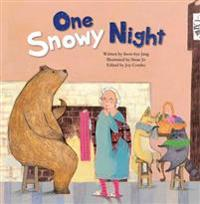 One snowy night - measuring with body parts