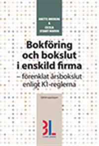 Bokföring och bokslut i enskild firma