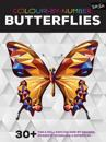 Colour-by-number: butterflies - 30+ fun and relaxing colour-by-number proje