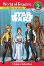 Star Wars: 3 Tales of Adventure [With Audio CD]