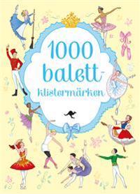 1000 balettklistermärken