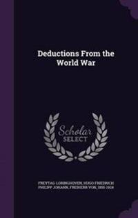 Deductions from the World War