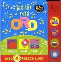Jag lär mig ord : en bok med ljud