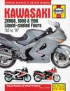Kawasaki ZX900, 1000 & 1100 Liquid-Cooled Fours