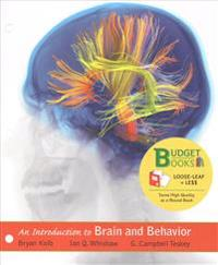 Loose-Leaf Version for Introduction to Brain and Behavior 5e & Launchpad for Introduction to Brain and Behavior 5e (Six Month Access)