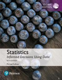 Statistics: Informed Decisions Using Data plus MyStatLab with Pearson eText, Global Edition