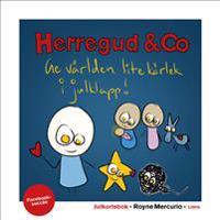 Julkortsbok med Herregud & Co : 20 vykort