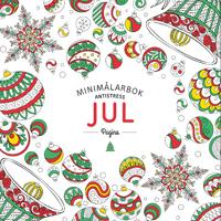 Jul. Minimålarbok antistress