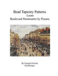 Bead Tapestry Patterns Loom Boulevard Montmartre by Pissaro