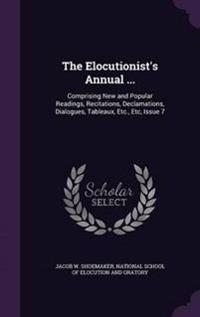 The Elocutionist's Annual ...