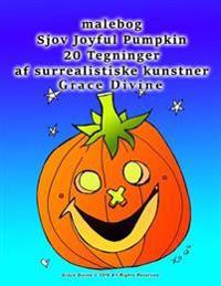 Malebog Sjov Joyful Pumpkin 20 Tegninger AF Surrealistiske Kunstner Grace Divine