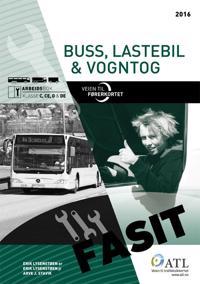 Veien til førerkortet; buss, lastebil, vogntog; fasit; arbeidsbok klasse C, CE, D og DE
