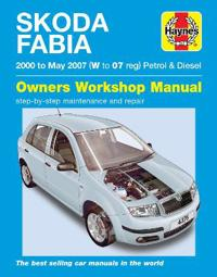 Skoda Fabia PetrolDiesel ('00-May '07) W To 07