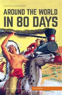 Classics Illustrated Around the World in 80 Days