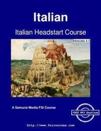 Italian Headstart Course - Modules 4-5