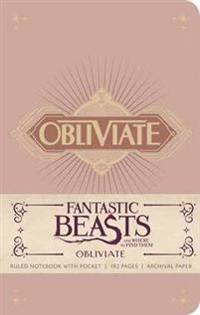Fantastic Beasts and Where to Find Them Ruled Notebook 1