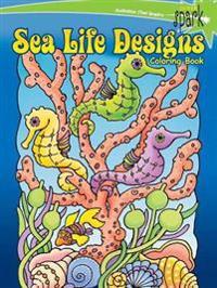 Sea Life Designs Coloring Book