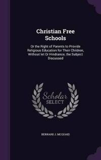 Christian Free Schools