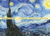 Min konstsamling : 46 berömda målningar att färglägga